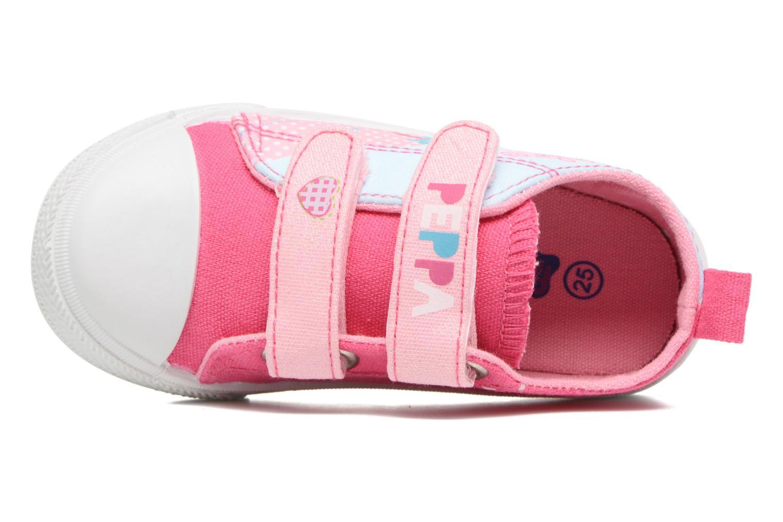 Sneakers Peppa Pig PP ADELME Rosa bild från vänster sidan