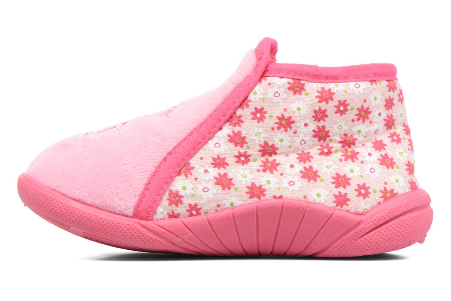 Chaussons Peppa Pig PP ROSALIE Rose vue face