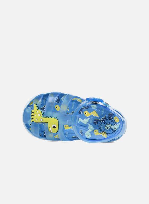 Sandalen Colors of California Jenny sandals DINO Blauw links