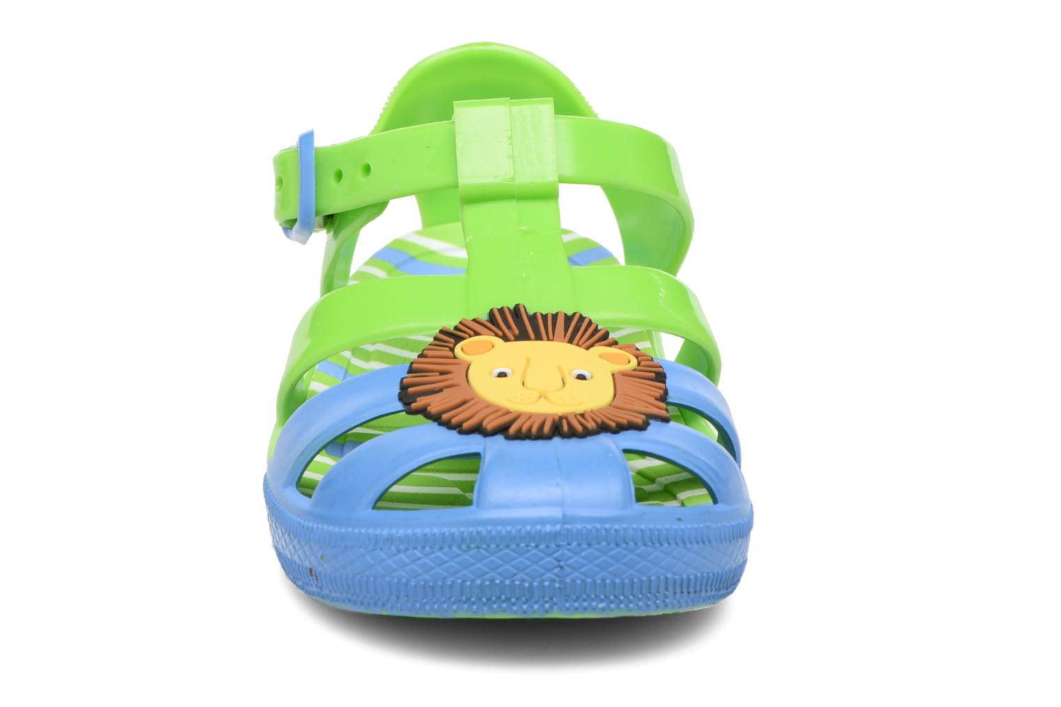 Sandals Colors of California Jenny sandals LION Green model view