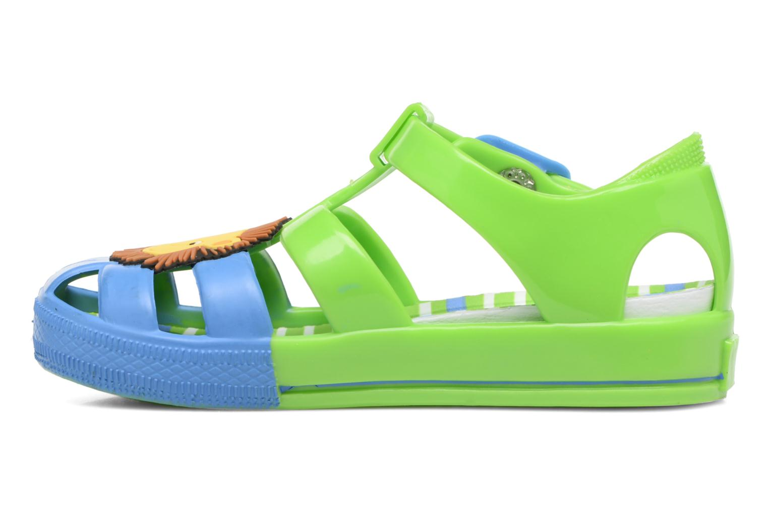Sandals Colors of California Jenny sandals LION Green front view