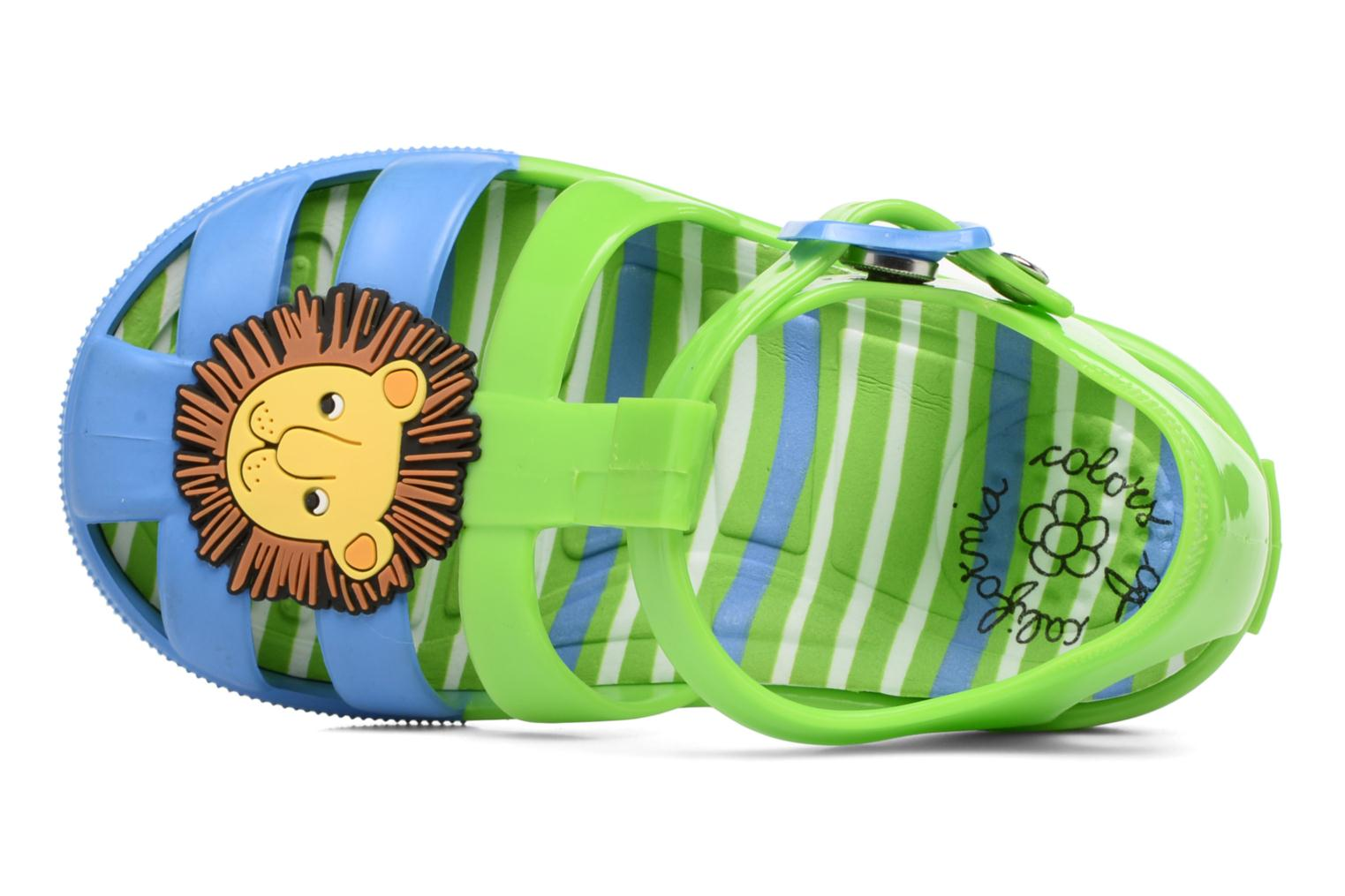 Sandals Colors of California Jenny sandals LION Green view from the left