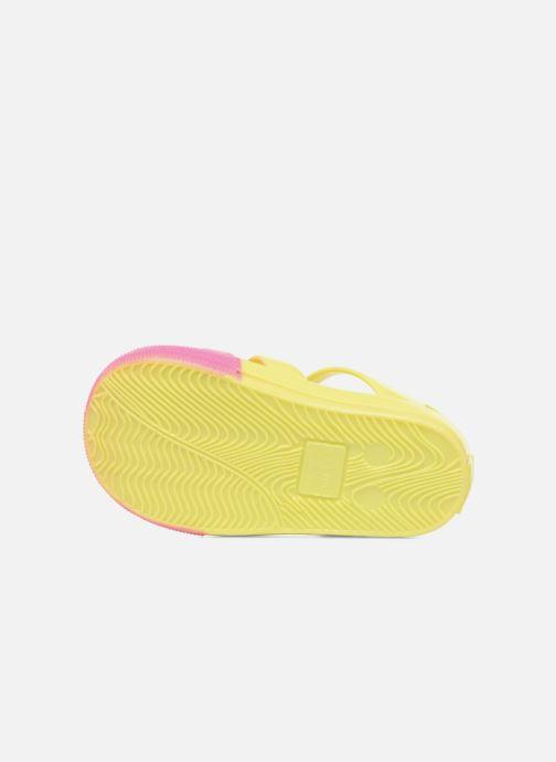 Sandales et nu-pieds Colors of California Jenny sandals CAT Jaune vue haut