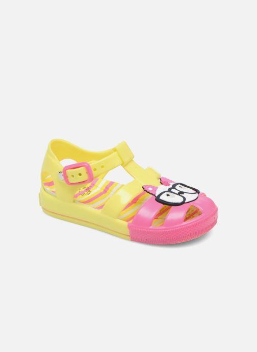 Sandales et nu-pieds Colors of California Jenny sandals CAT Jaune vue détail/paire