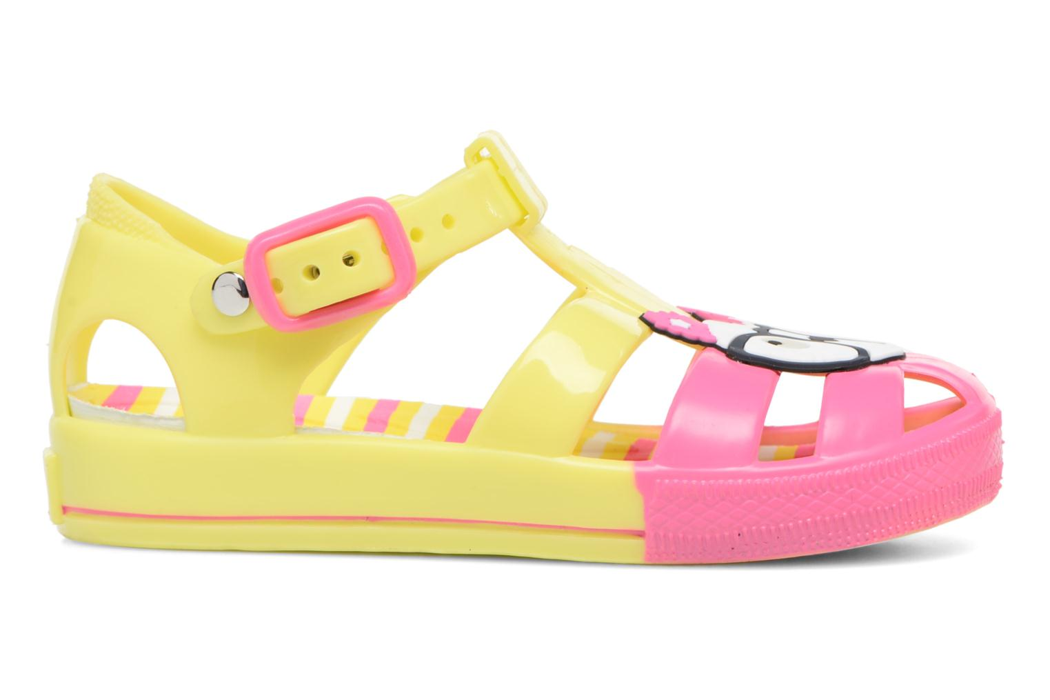 Sandals Colors of California Jenny sandals CAT Yellow back view