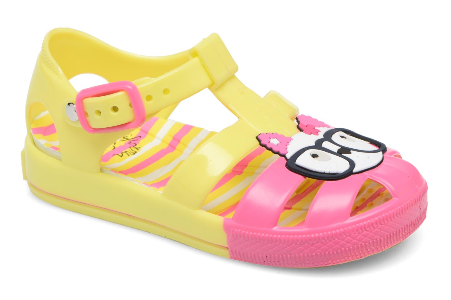 Sandals Colors of California Jenny sandals CAT Yellow detailed view/ Pair view
