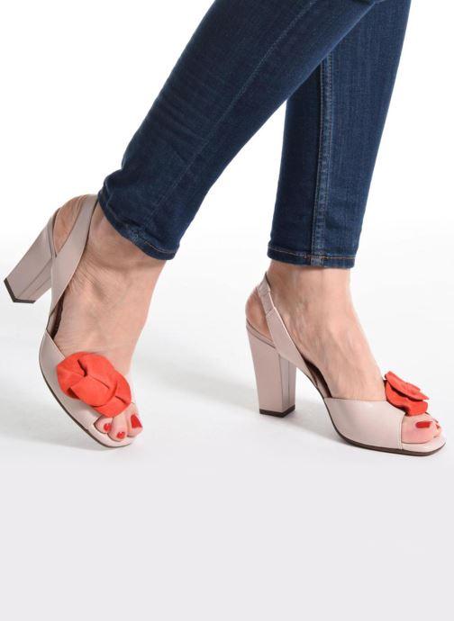Sandales et nu-pieds Chie Mihara Anami Rose vue bas / vue portée sac
