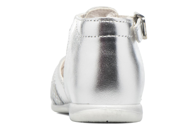 Sandaler Bopy Zetadi Sølv Se fra højre