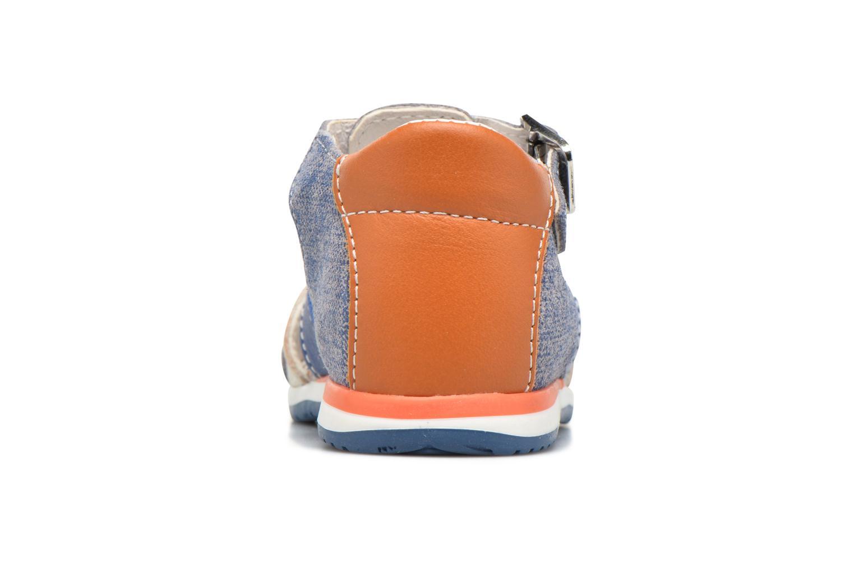 Sandalen Bopy Zinedine Blauw rechts