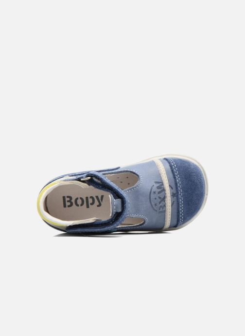 Bottines d'été Bopy Zalisa Bleu vue gauche