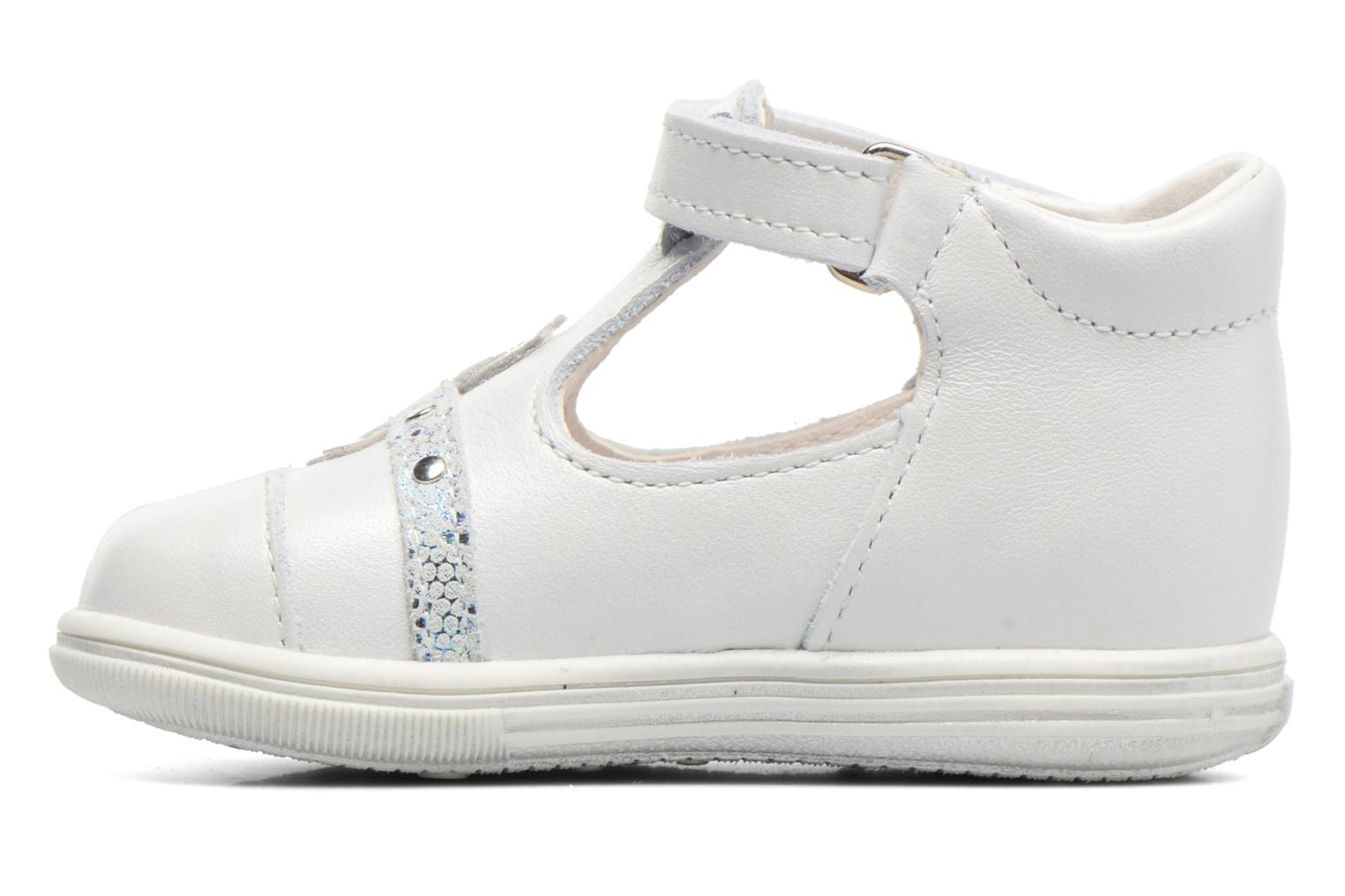 Sandals Bopy Zolita White front view