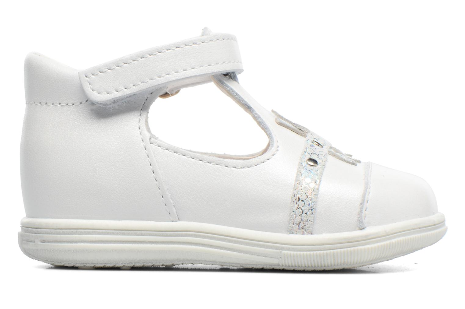 Sandals Bopy Zolita White back view
