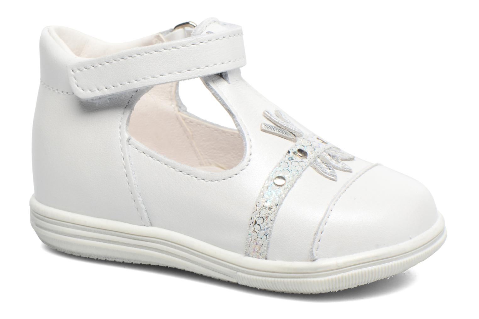 Sandals Bopy Zolita White detailed view/ Pair view