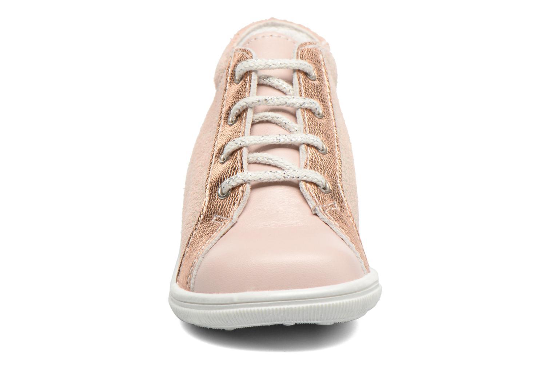 Chaussures à lacets Bopy Zental Rose vue portées chaussures