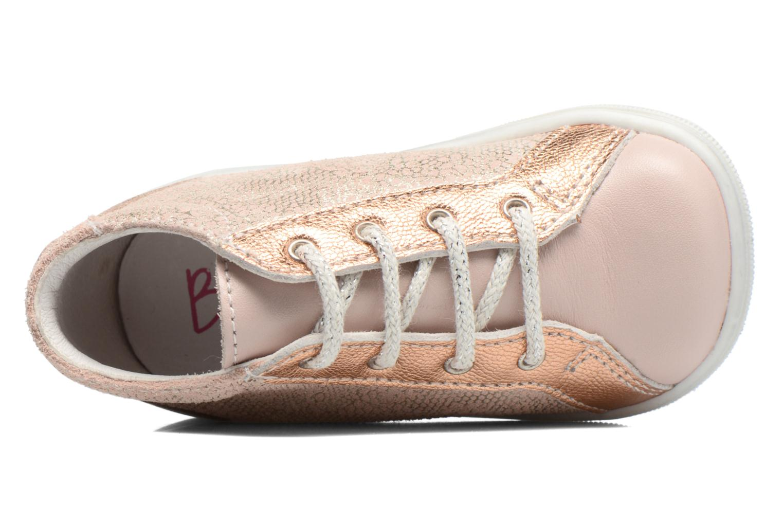 Chaussures à lacets Bopy Zental Rose vue gauche