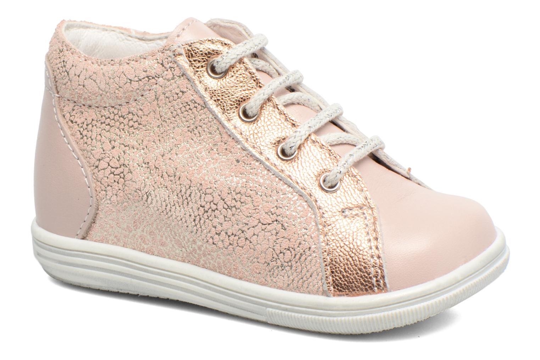 Chaussures à lacets Bopy Zental Rose vue détail/paire