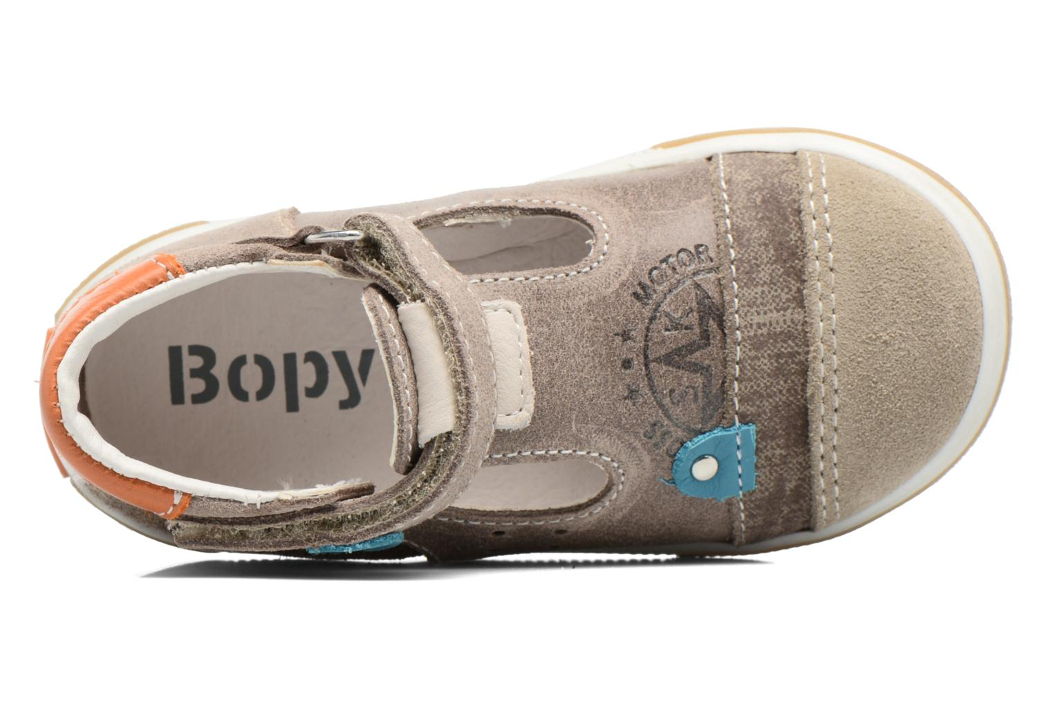 Sandals Bopy Boba Brown view from the left