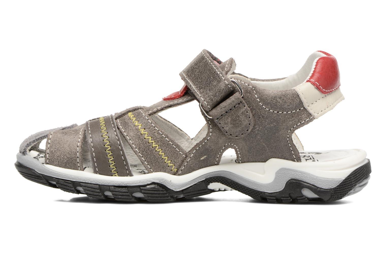 Sandals Bopy Ebriac Grey front view