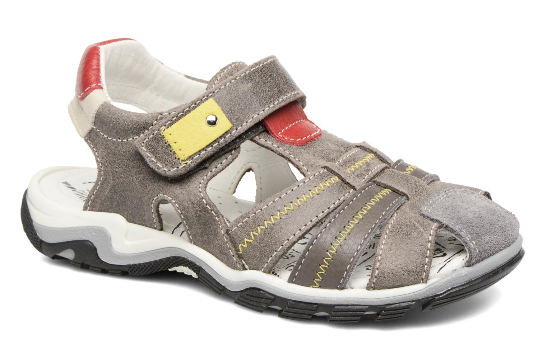 Sandals Bopy Ebriac Grey detailed view/ Pair view