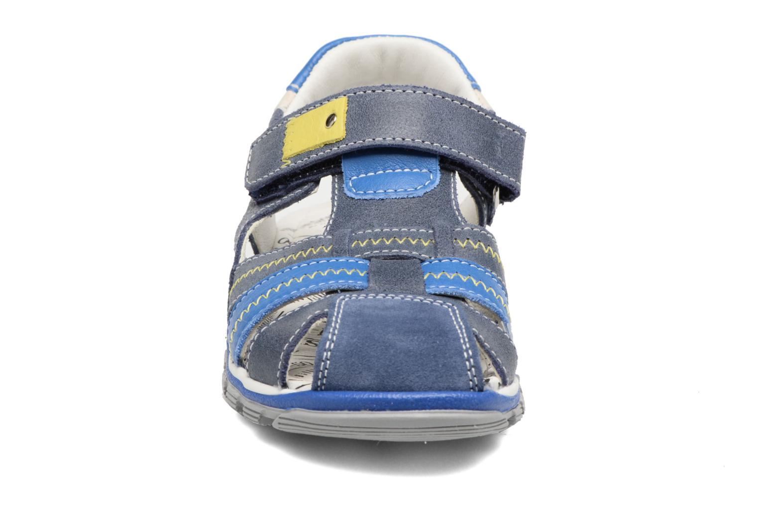 Sandals Bopy Ebriac Blue model view