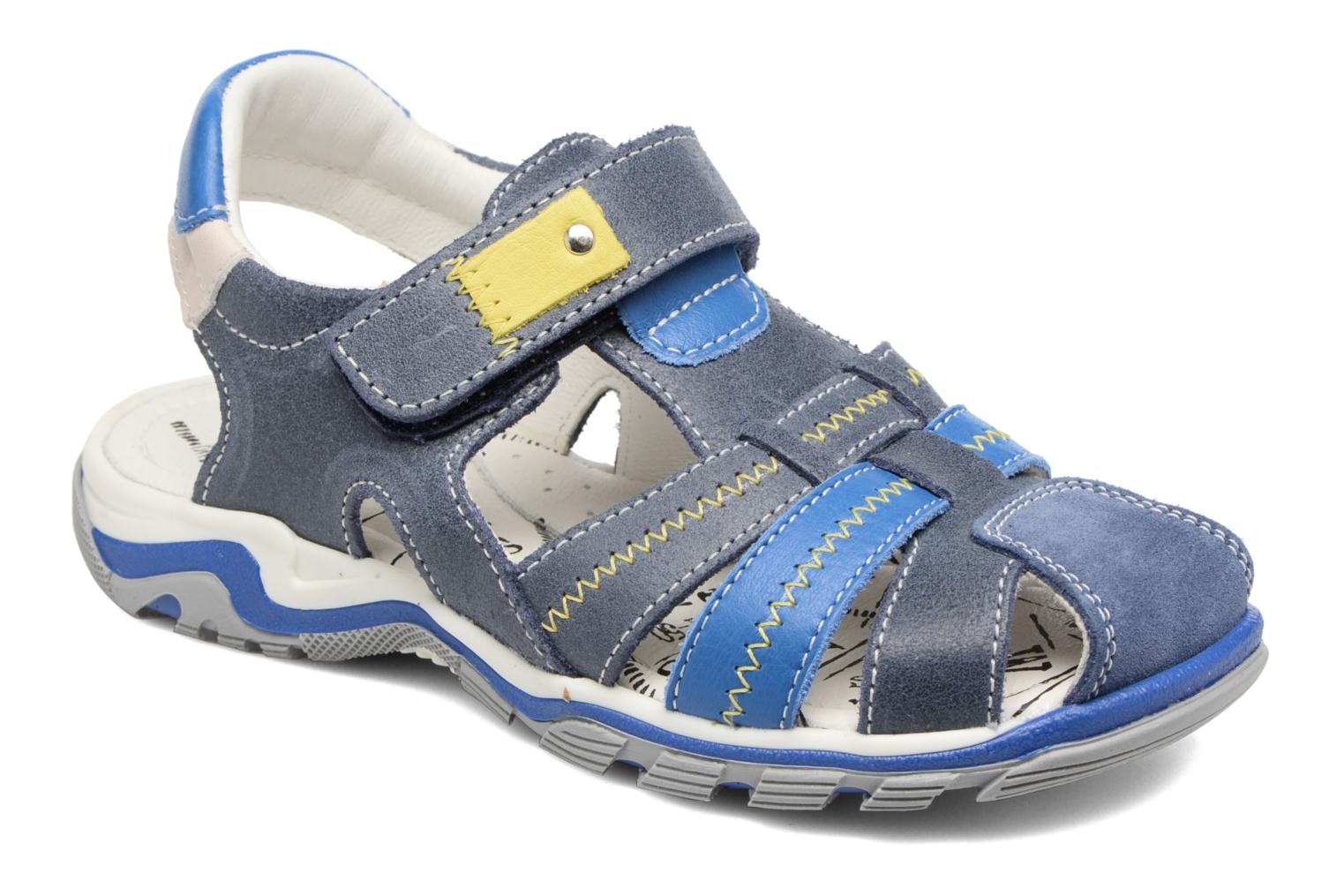 Sandals Bopy Ebriac Blue detailed view/ Pair view