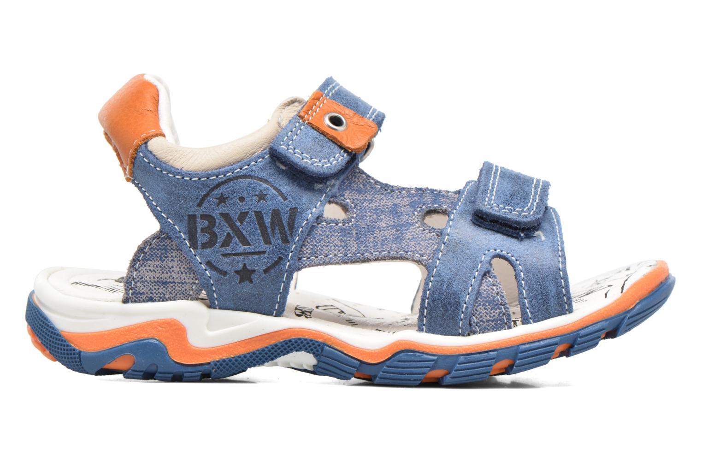 Sandals Bopy Eblake Blue back view