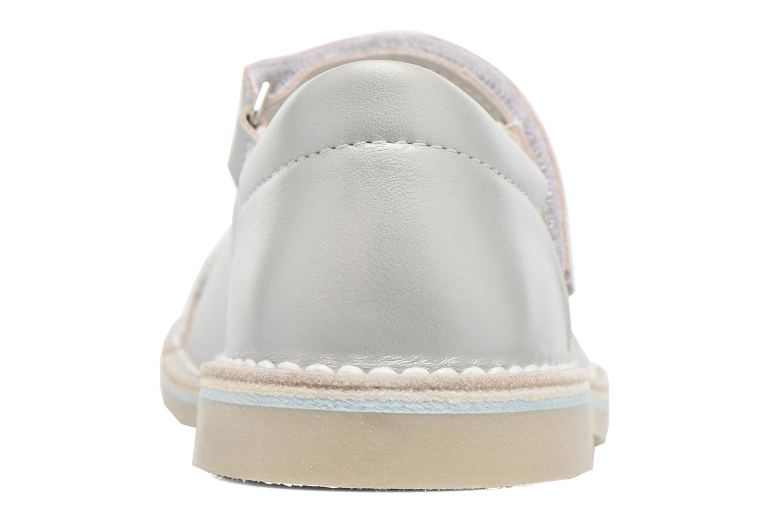 Ballet pumps Bopy Molina Grey view from the right