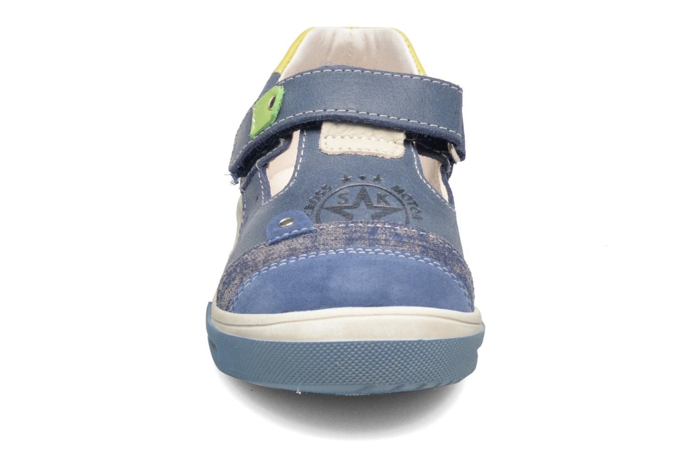 Baskets Bopy Voba Bleu vue portées chaussures