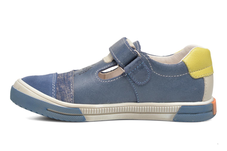 Sneaker Bopy Voba blau ansicht von vorne