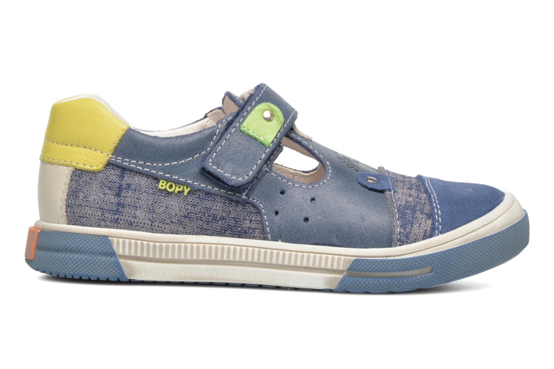 Sneaker Bopy Voba blau ansicht von hinten
