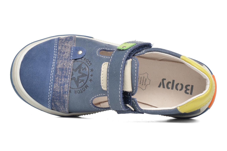 Sneaker Bopy Voba blau ansicht von links