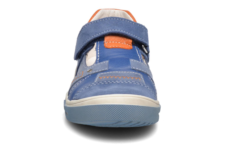 Chaussures à scratch Bopy Vadiso Bleu vue portées chaussures