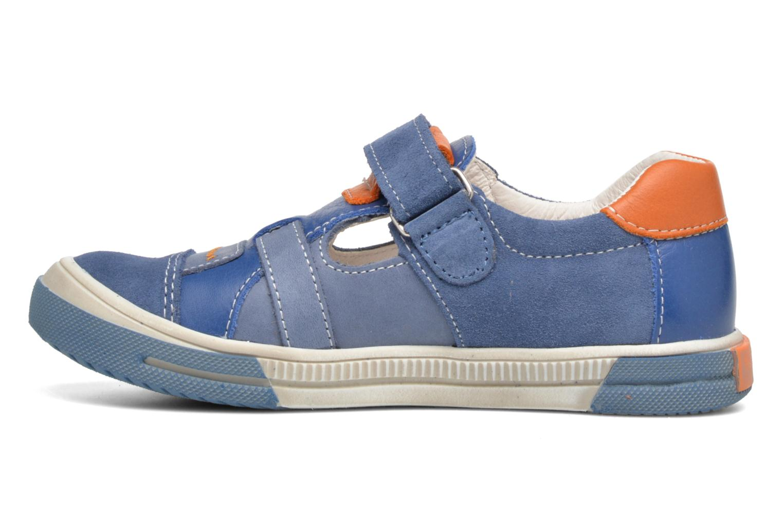 Chaussures à scratch Bopy Vadiso Bleu vue face