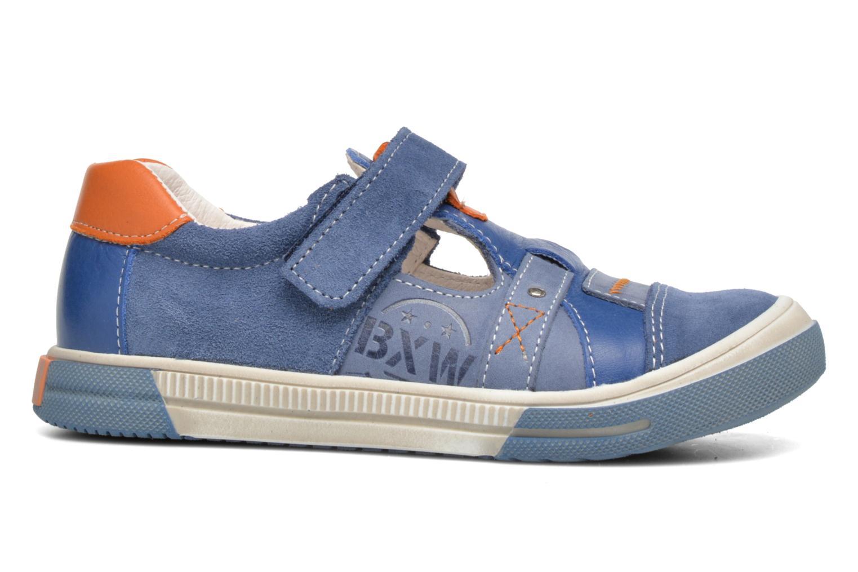 Chaussures à scratch Bopy Vadiso Bleu vue derrière