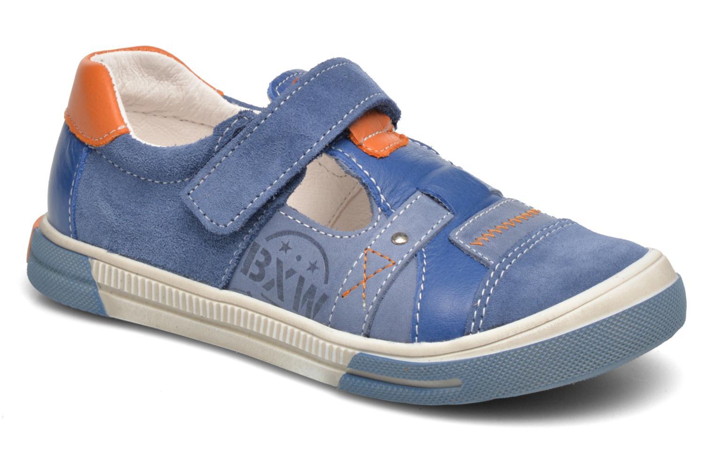 Chaussures à scratch Bopy Vadiso Bleu vue détail/paire