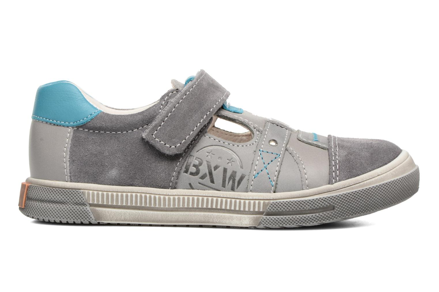 Velcro shoes Bopy Vadiso Grey back view