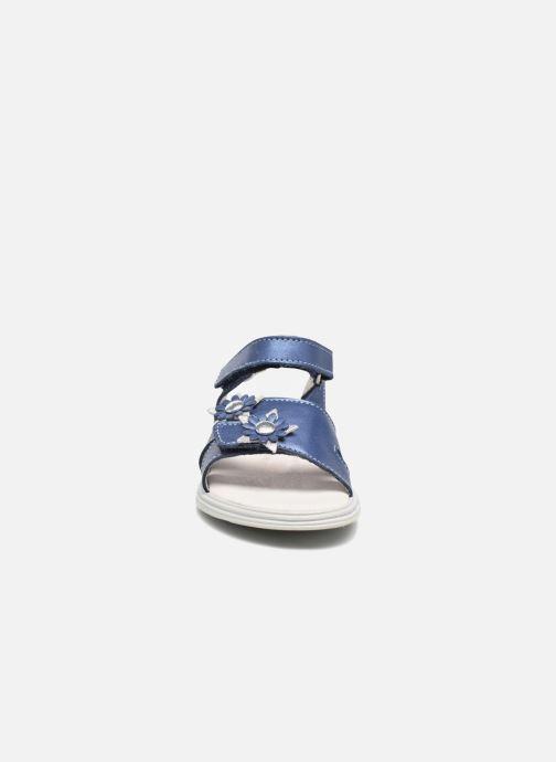 Sandales et nu-pieds Bopy Elisco Bleu vue portées chaussures