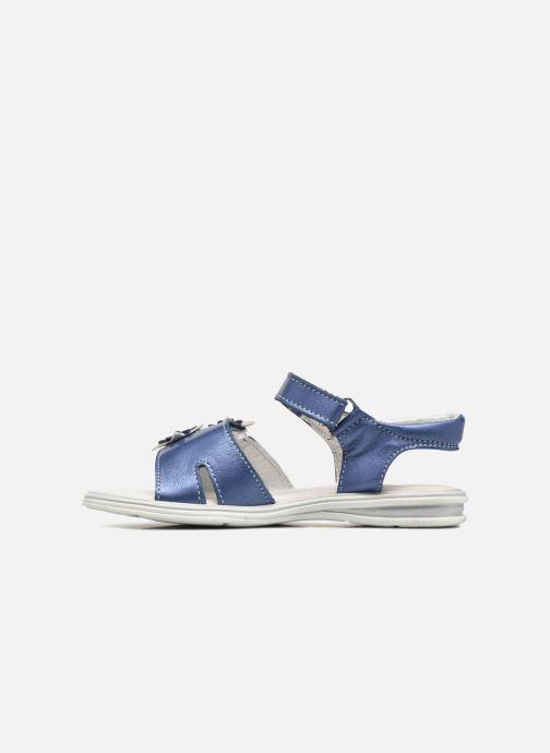 Sandales et nu-pieds Bopy Elisco Bleu vue face