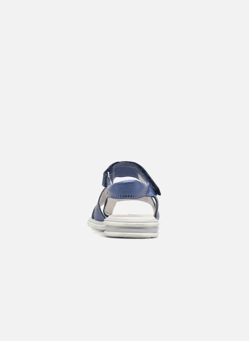 Sandales et nu-pieds Bopy Elisco Bleu vue droite