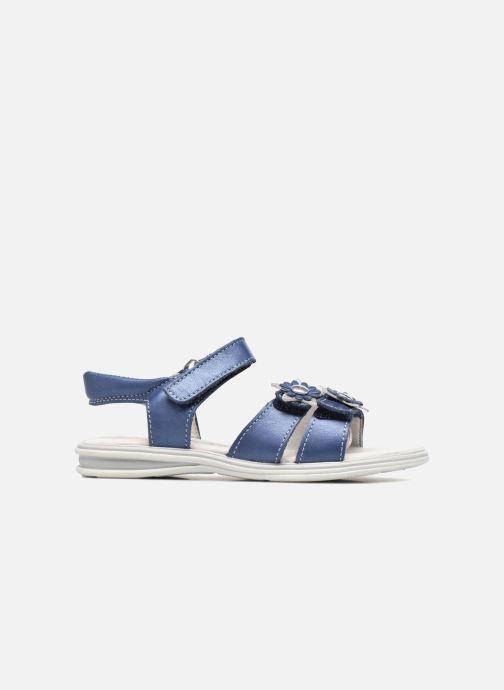 Sandales et nu-pieds Bopy Elisco Bleu vue derrière