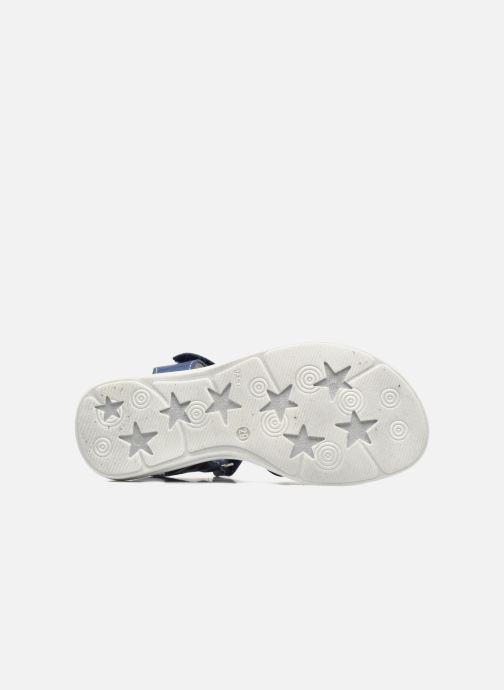 Sandales et nu-pieds Bopy Elisco Bleu vue haut