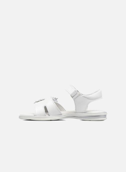 Sandales et nu-pieds Bopy Elisco Blanc vue face