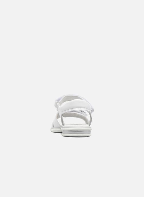 Sandales et nu-pieds Bopy Elisco Blanc vue droite
