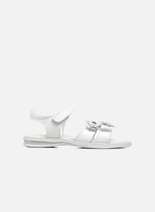 Sandales et nu-pieds Bopy Elisco Blanc vue derrière