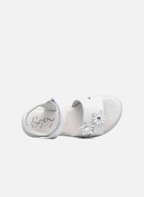 Sandales et nu-pieds Bopy Elisco Blanc vue gauche