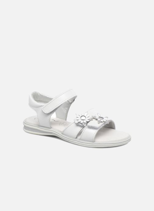 Sandales et nu-pieds Bopy Elisco Blanc vue détail/paire