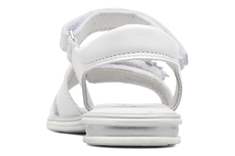 Sandalias Bopy Elisco Blanco vista lateral derecha