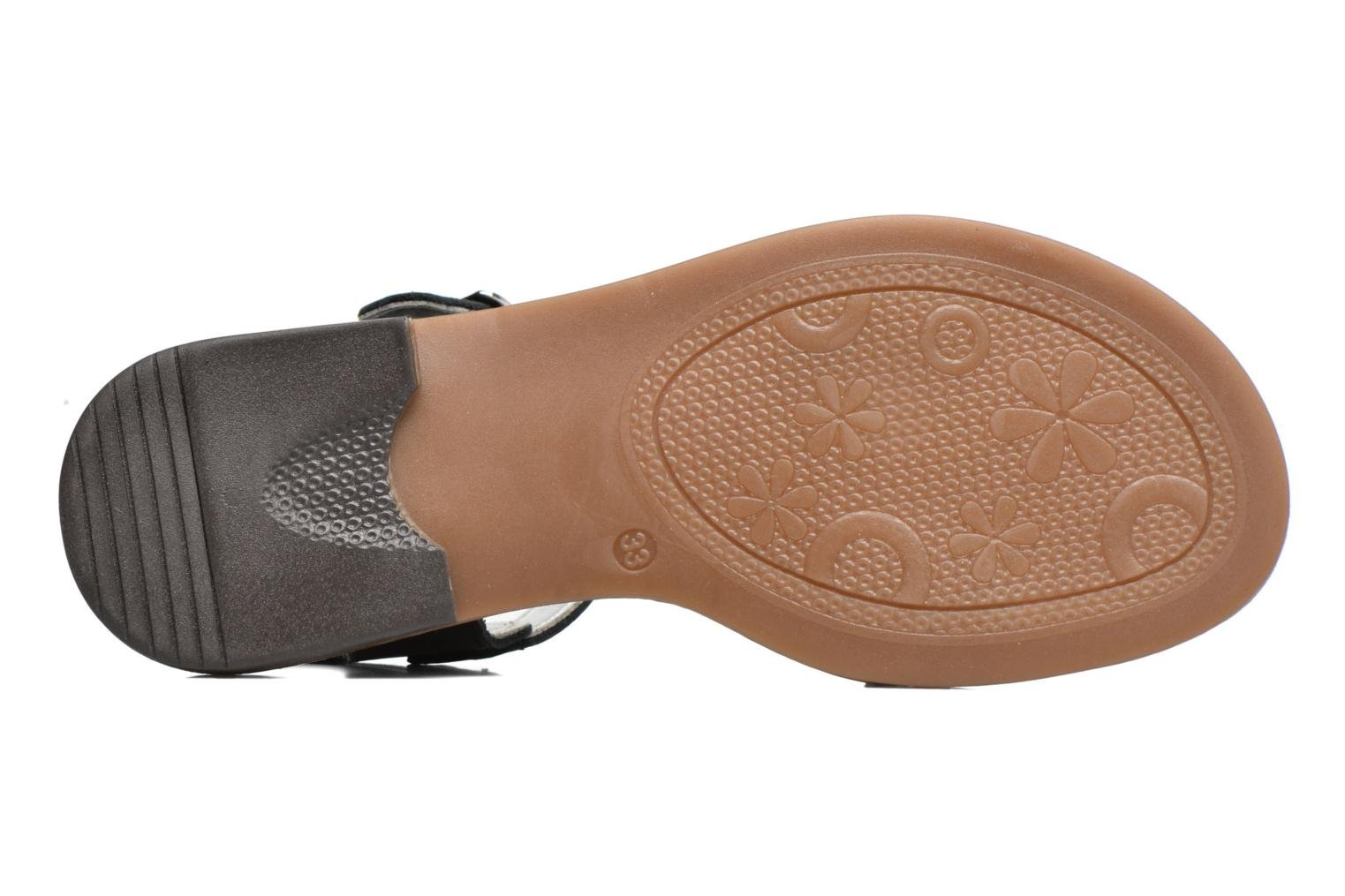 Sandals Bopy Epouf Black view from above