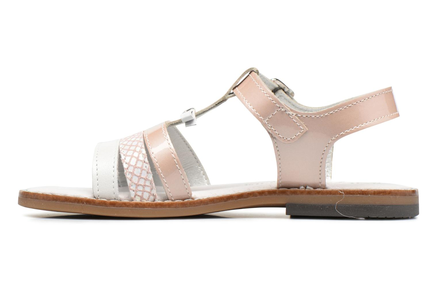 Sandals Bopy Elvire Pink front view