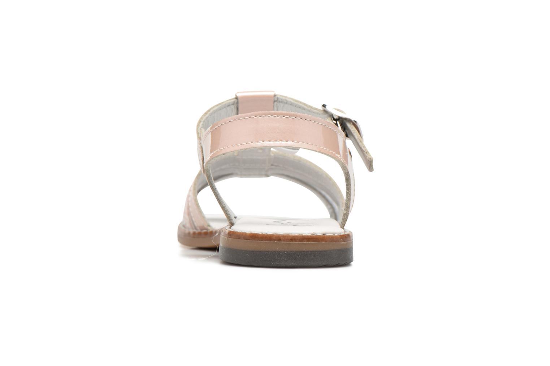 Sandales et nu-pieds Bopy Elvire Rose vue droite